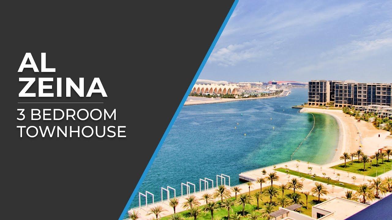Al zeina 3 bedroom apartment al raha beach al dar abu for Al manzool decoration abu dhabi