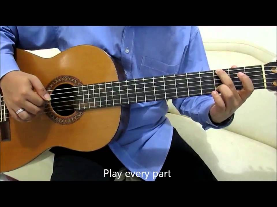 Christina Perri A Thousand Years Guitar Lesson Intro No Capo