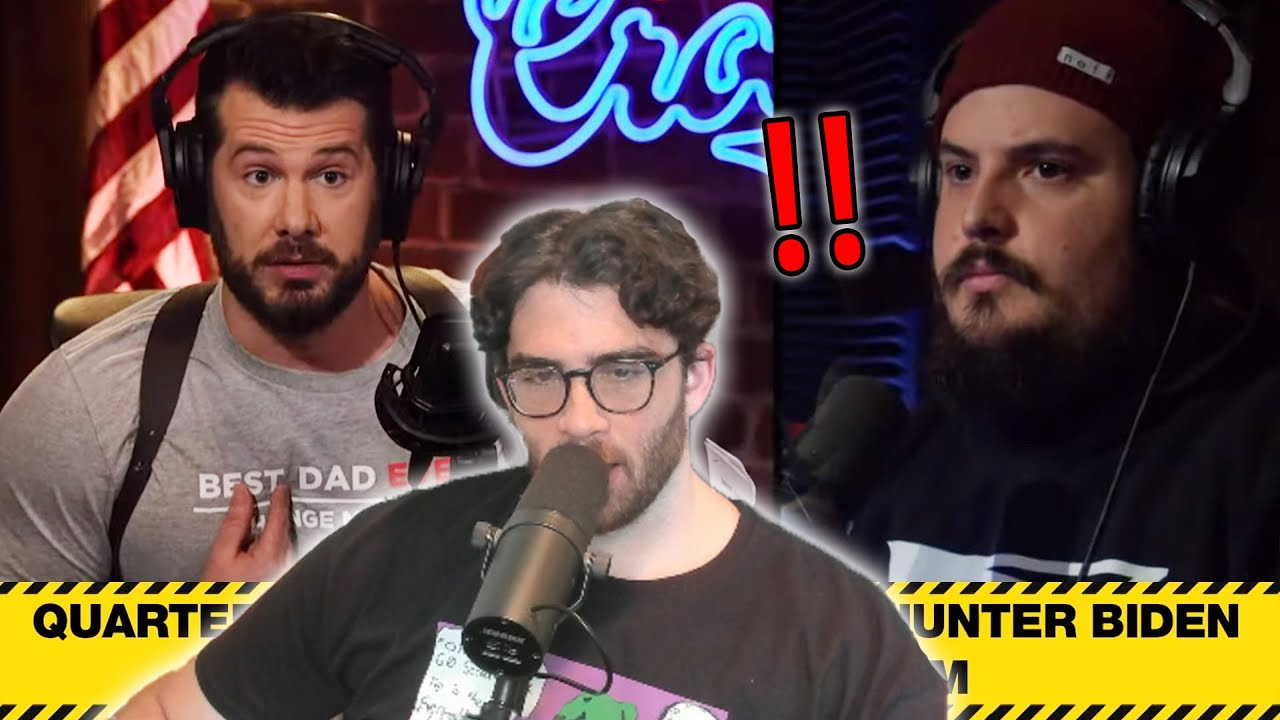 White Guy Says The N-Word on Steven Crowders Show