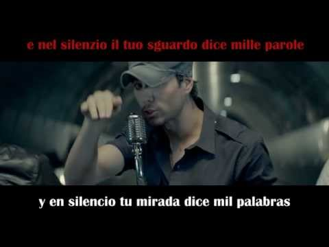 Enrique Iglesias - Bailando - Spanish and Italian Lyrics