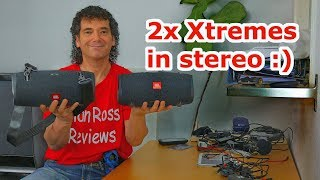 2x jbl xtreme 2s in stereo and party mode - vs single xtreme