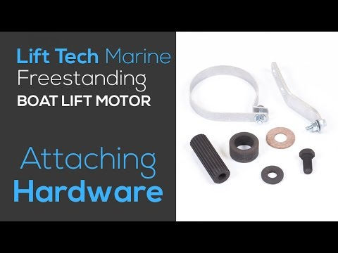 Attaching Hardware Kits for Lift Tech Marine Boat Lift Motors