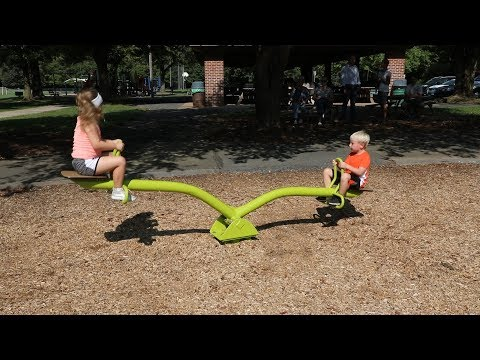 Seesaw, 2 Seats - Freestanding Play - Landscape Structures