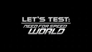 Need For Speed World - [ Deutsch | German | Gameplay | Let's Test ]