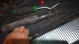 touareg замена задних газовых упоров 2 часть