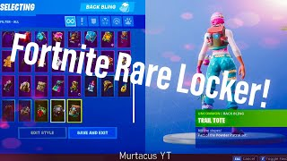 Fortnite Locker Collection and Showcase Season 3 RARE SKINS!