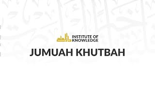 ustadh nouman ali khan connecting with allah through the quran   8 16 2013   iok khutbah