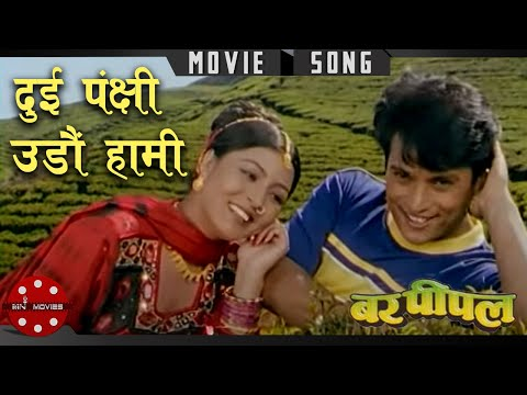 Nilo Nilo Aakasaima | Nepali Movie Bar Pipal Song | Shree Krishna Shrestha | Puja Chand