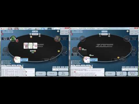 $10nl Zoom on Pokerstars III (post flop focus)