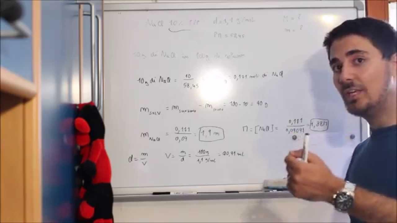 Conversione tra unit di misura molarit molalit e - Conversione unita di misura portata ...