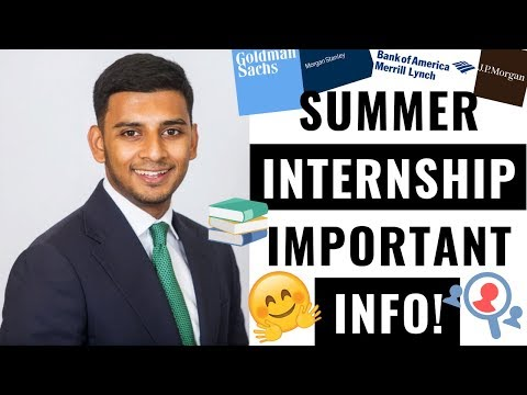 Everything You Need To Know About Your Summer Internship!