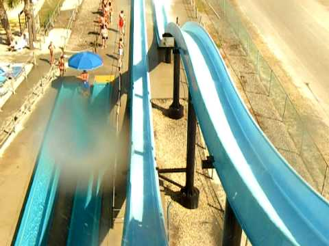 Pov Going Down The Slide Wild Water And Wheels Surfside Beach Sc June 28 2007 Part 2 You
