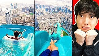 These WATER SLIDES Were Banned FOREVER..