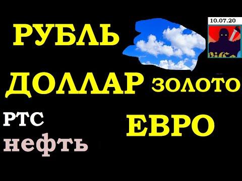 Курс рубля,Курс доллара на сегодня,Курс рубля,Курс евро,Нефть, золото,РТС фьюч, 10.07.20