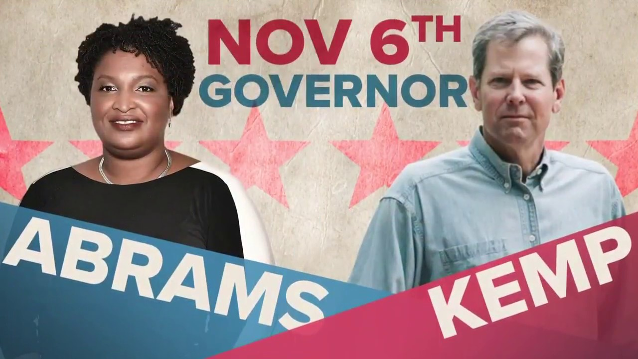 Image result for stacey abrams v brian kemp