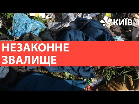 На Троєщині знов знайшли стихійне сміттєзвалище