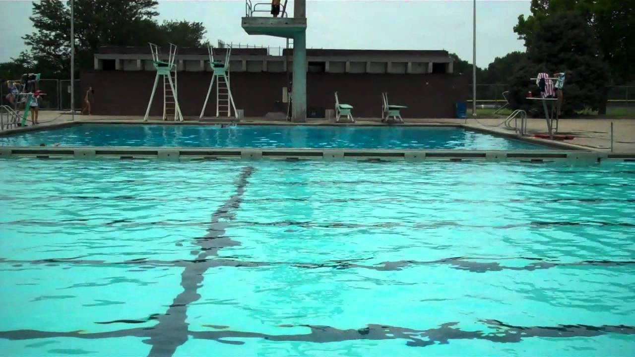 Woods Pool Flash Mob Youtube