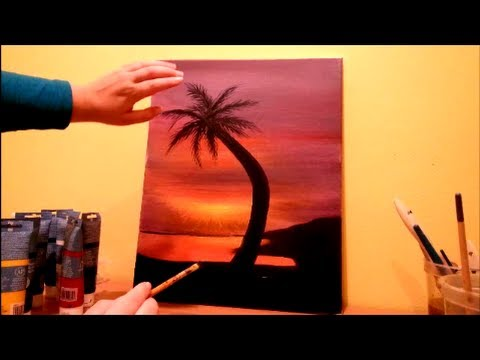 Easy Acrylic Paintings Step By