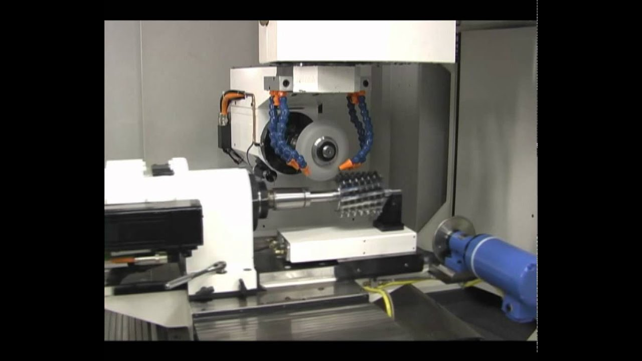 Ptg 1 Tool Amp Cutter Grinding Machine Youtube