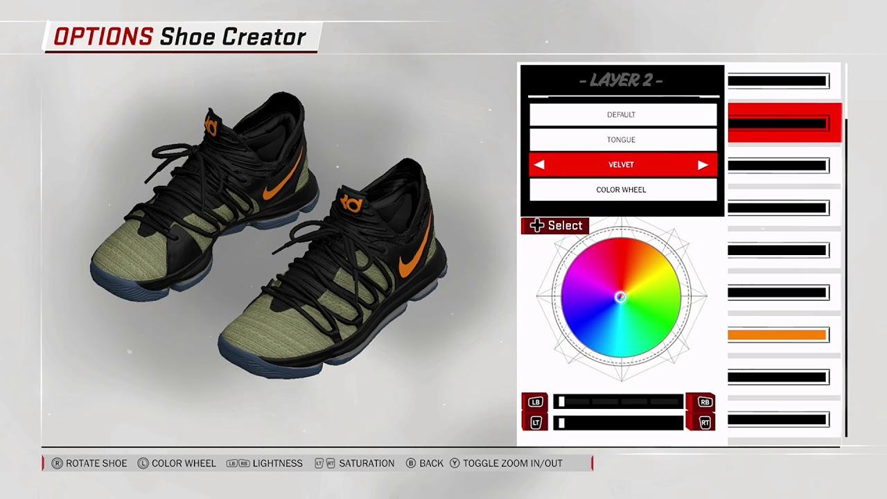 c775f7cd7e90 NBA 2K18 Shoe Creator - Nike KD 10