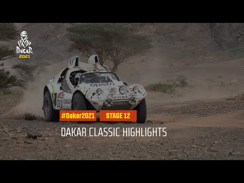 #DAKAR2021 - Stage 12 - Yanbu / Jeddah - Dakar Classic Highlights