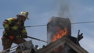 3RD ALARM: House Fire in East Allen Township, PA | 06.20.14