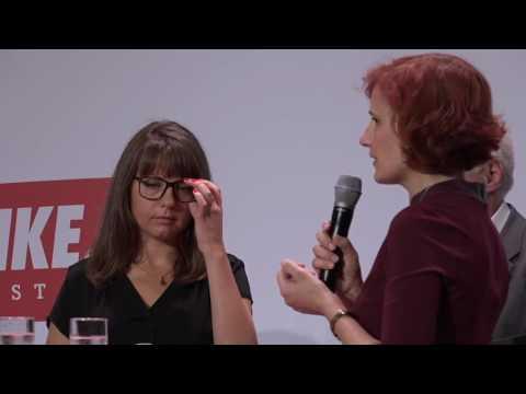 Katja Kipping, Stefanie Kaps und Mieten Kalle bei der Veranstaltung »Links   wo das Herz schlägt«