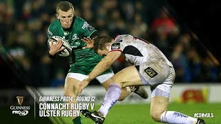 Guinness PRO14 Round 12 Highlights: Connacht Rugby v Ulster Rugby