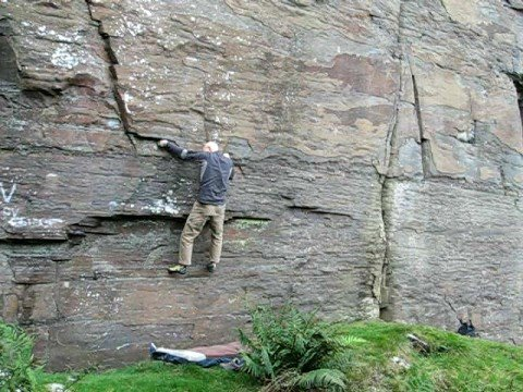 Get Flossed Start - V5/6 - The Gap  / South Wales