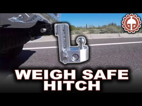 Weigh Safe Hitch, Adjustable Ball Mount (WS6-2) - UNBOX & INSTALL