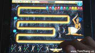 Luxor: Amun Rising GamePlay on iPad / iPad 2 / iPhone / iPod Touch HD