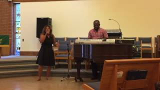 Thank You Lord (Chevelle Franklin and Lady G) Covered by High Energy