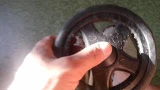 как снять колеса с сумки тележки