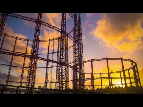 London Timelapse:  Industrial Plant Hackney