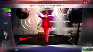 "Michael Jackon The Experience PS3 gameplay ""Blood is on the Dancefloor"""