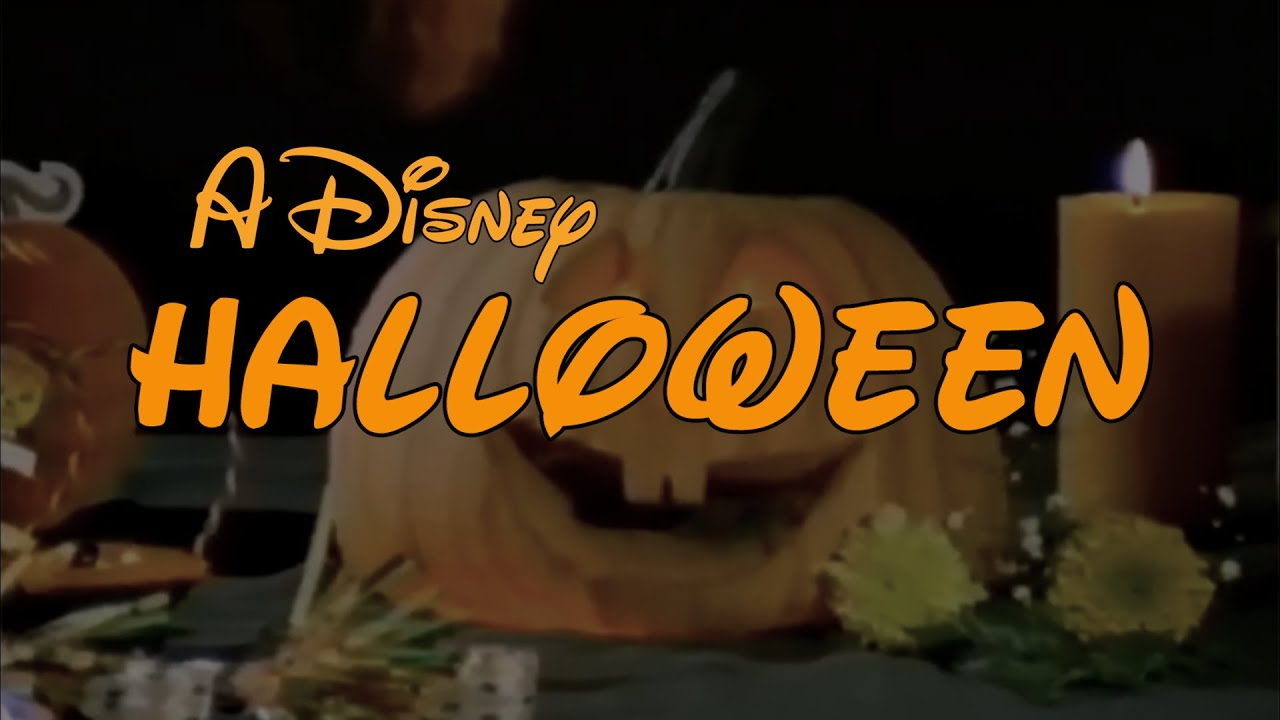 A Disney Halloween - YouTube