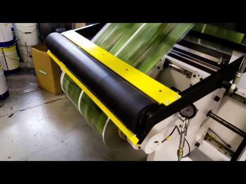 Flexo Printing In Tigran Mets Publishing House