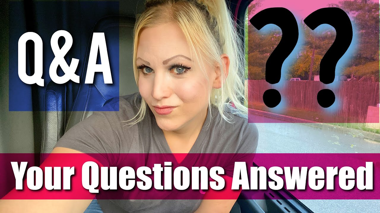 Q&A Answering Your Questions!