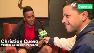 Christian Cueva: su presente en Santos, la Selección Peruana y 'pichanga' vs Al Ángulo | ENTREVISTA