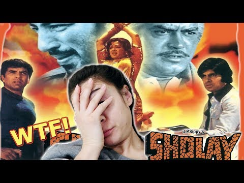 SHOLAY: WTF THIS ENDING! BOLLYWOOD CLASSIC FOREIGNER REACTION | TRAVEL VLOG IV