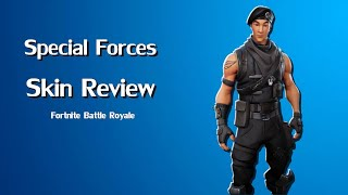 Special Forces Skin Review! | Fortnite Battle Royale | Ep. 1