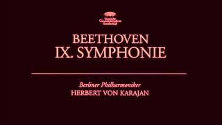 """O Freunde, nicht diese Töne"" - Symphony No. 9, Ludwig van Beethoven | Herbert von Karajan"