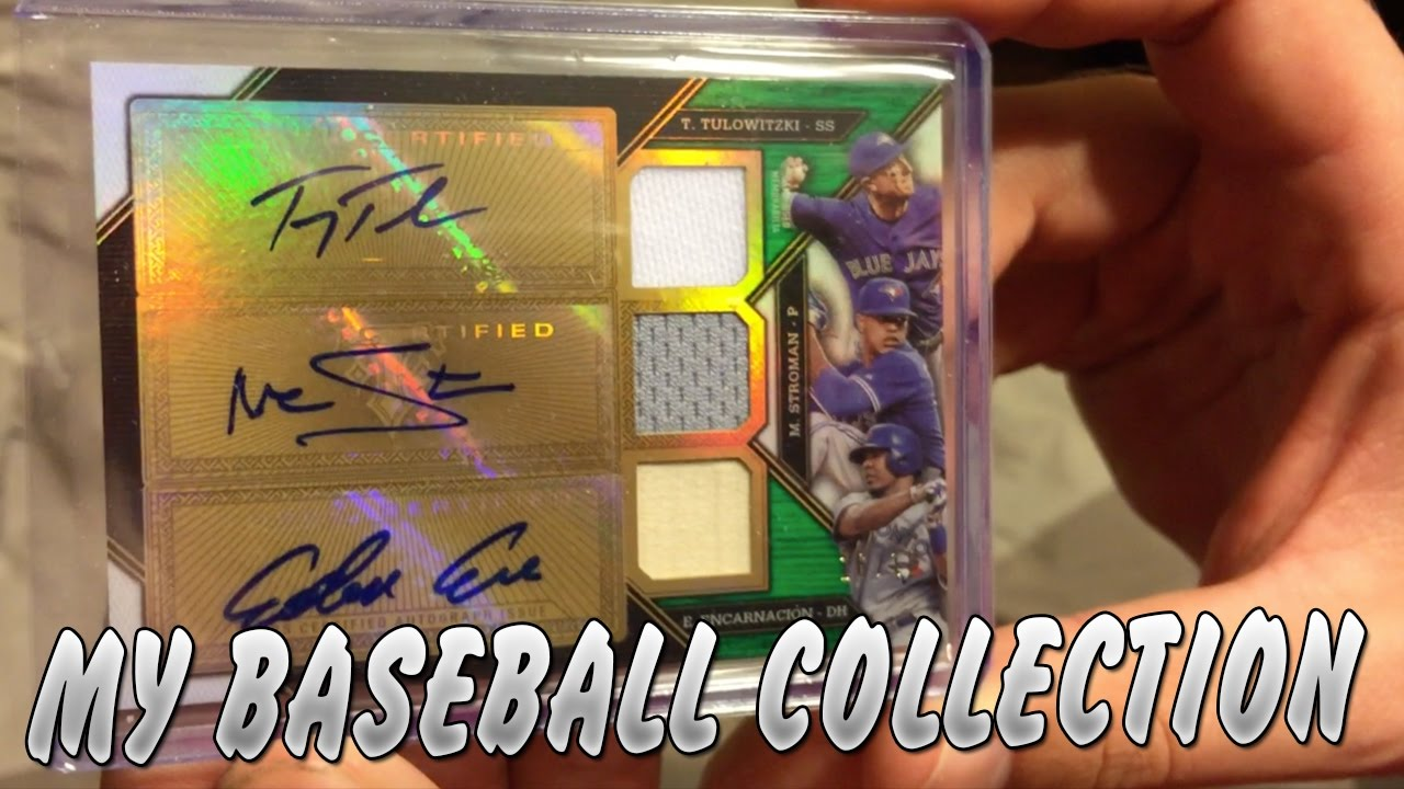 My Baseball Card Collection Tons Of Autographs And Relic Cards