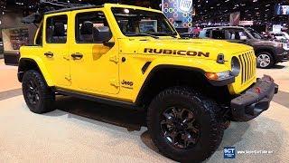2018 Jeep Wrangler Rubicon - Exterior and Interior Walkaround - 2018 Chicago Auto Show