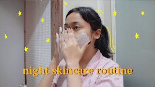 night skincare routine 🌙 ✨ ⎯ indonesia