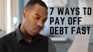 7 Ways to Pay Off Debt Fast