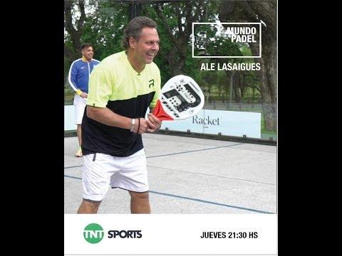 Mundo Padel Programa 3 - Alejandro Lasaigues