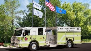 Rock Community, Velocity® Heavy Duty Rescue Pumper