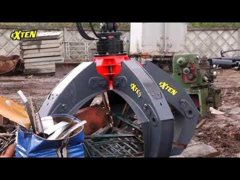 Exten грейфер для металлолома