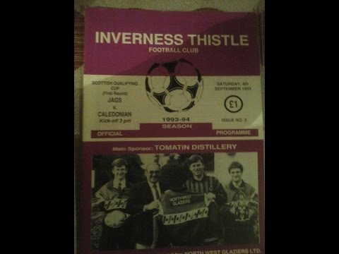 Inverness Thistle FC v Caledonian FC